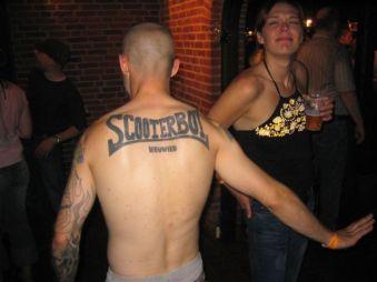 scooterboy tattoo