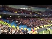 Wanderwall degli Oasis cantata dai tifosi del Manchester City