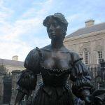 molly malone statua dublino