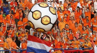 tifo olanda in Kharkiv Euro 2012
