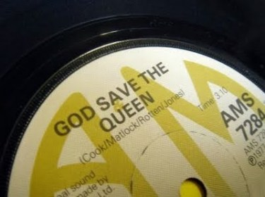 god save the queen sex pistols LP vinyl disco punk