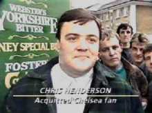 chris henderson chelsea combat 84