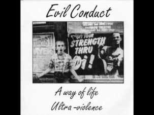 evil conduct ultra violence 45 giri