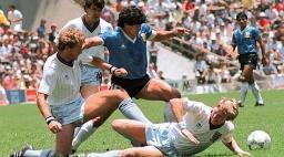 goal maradona inghilterra messico 86