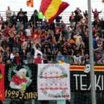 Coro da stadio Catanzaro non mollare facci un gol