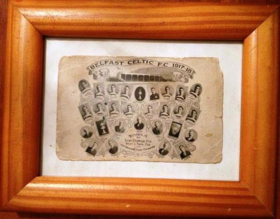 1918 - il Belfast Celtic FC vince la Irish Cup.