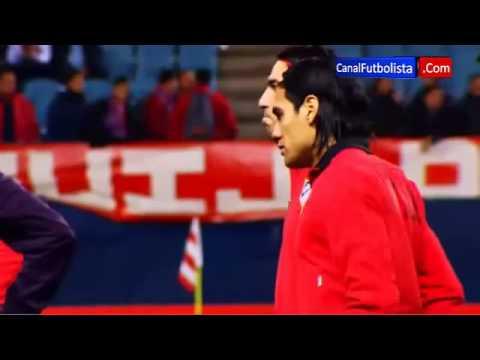 Musica e calcio: la qualità è in mano a Falcao al Vicente Calderon