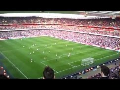 Musica e calcio con l'Arsenal e Move on up