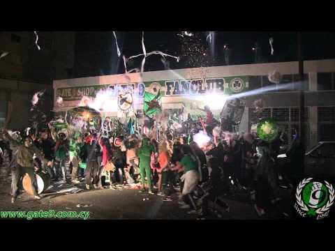 Harlem shake degli ultras del Gate 9 Omonia Nicosia