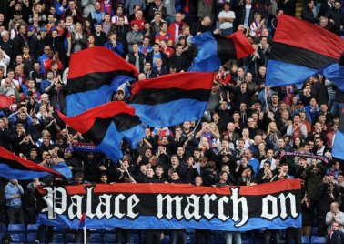 crystal palace supporters