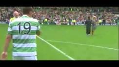 Il Celtic Park in coro canta YNWA per Stiliyan Petrov