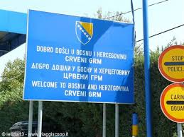 confine bosnia croazia