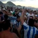 ¿Qué te pasa brazuca, coro argentino ai mondiali 2014