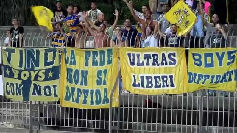 Un'avventura, coro ultras Parma e musica di Lucio Battisti