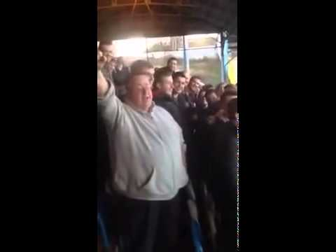 Un coro da stadio inglese unisce tifosi e musica ska