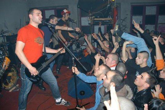 azione diretta skinhead parugia