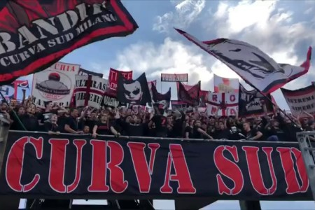 cori curva sud milano