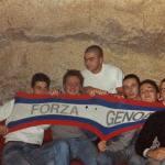 Genoa: sciarpa rossoblu tra skinheads ad un concerto anni 80