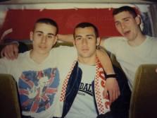 Grosseto: skins in trasferta nel 1991/92 (BOYS 1989-CURVA NORD)