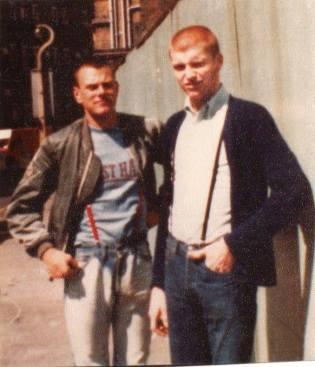 West ham united: skinheads