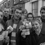 QPR: skinheads outside Loftus Road, Queen's Park rangers v Chelsea, February 15th 1970