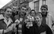 QPR: skinheads outside Loftus Road, Queen's Park rangers v Chelsea, February 15th 1970