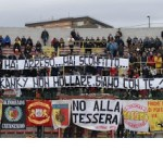 Catanzaro: Stendardo Skinheads Curva Ovest