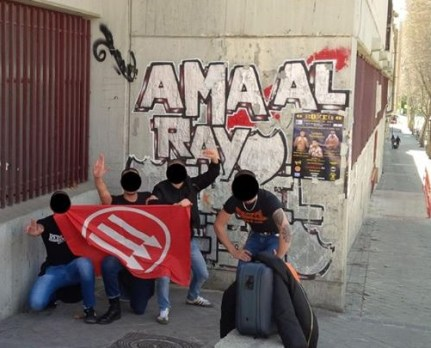 Rayo Vallecano: skins sotto il murales