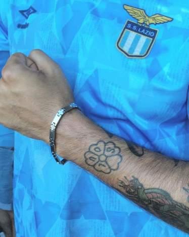 Lazio: mod con tatuaggio soul