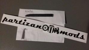 Partizan Belgrado: adesivo mods