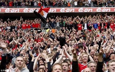 coro tifosi manchester united