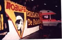 mob life roma striscione
