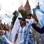 coro tifosi argentini russia 2018