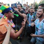 coro tifosi brasile