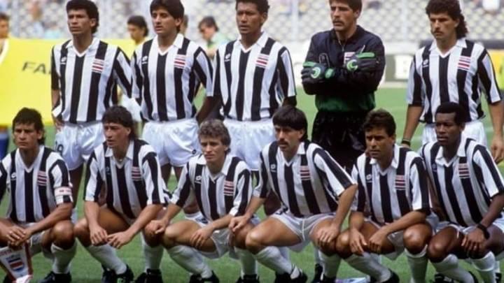 Storie Mondiali: Costa Rica a Italia '90 con le maglie della Juventus