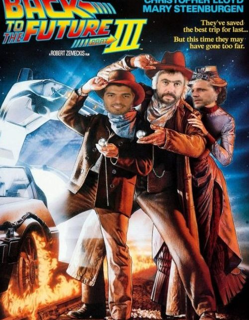 Le cronache ucroniche del Pistolero Suarez: Back to the Future