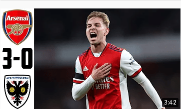 Arsenal 3 – 0 AFC Wimbeldon: Watch every Goals Scored as Emile Smith-Rowe scores for Arsenal – Football Audit