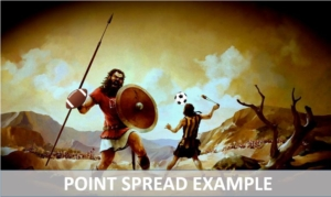 Point Spread examples