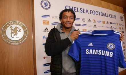 Cuadrado signed with Chelsea