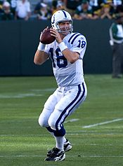 peyton manning with the colts