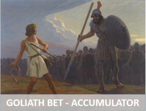 Goliath betting system