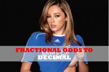 Fractional odds to decimal