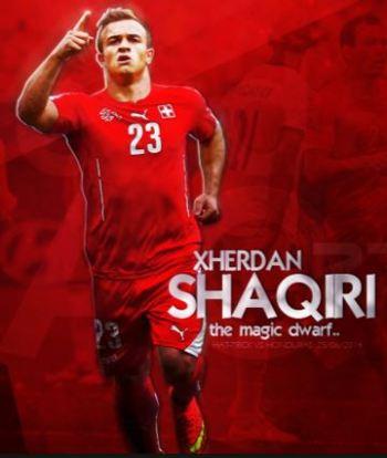 Xherdan Shaqiri best