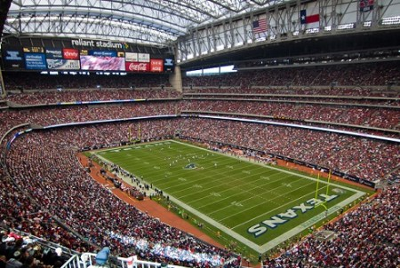 The NRG Stadium - Home of the Houston Texans & Venue for Superbowl LI