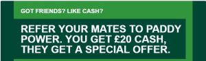 Paddy Power Refer a Friend