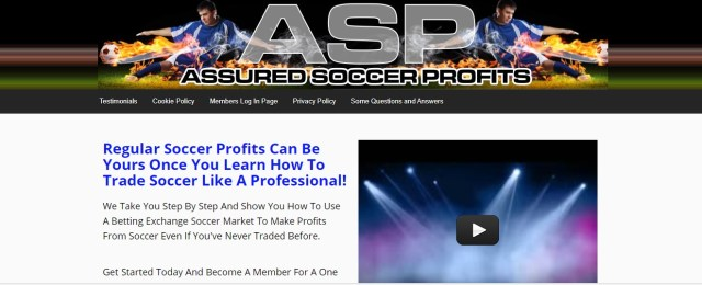 Assured Soccer Profits Football Betting Systems That Work