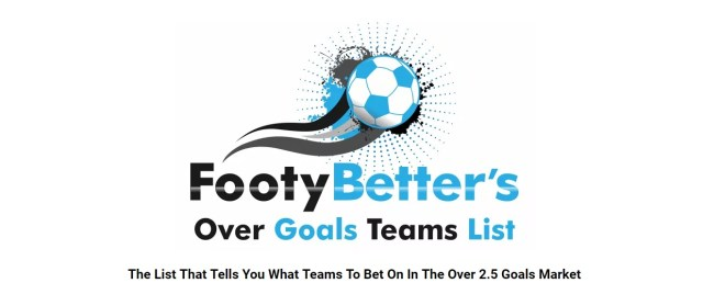 Teams To Back Over 2.5 Goals Football Betting System