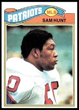 Sam Hunt Rookie Card 1977 Topps 356 Vintage Football