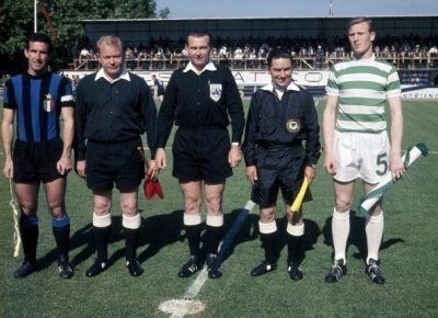 final copa de europa 1967 celtic inter de milan internazionale champions league