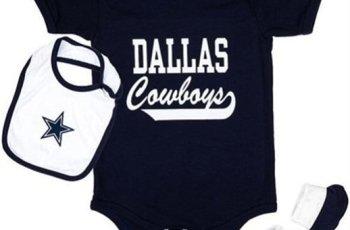 dallas cowboys onesie, dallas cowboys baby creeper